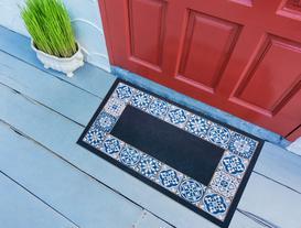 Desen 11 Kapı Önü Paspası 45x75cm