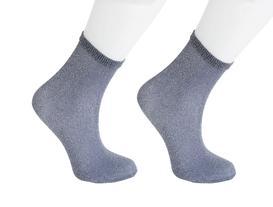Bayan Simli Çorap - Gri