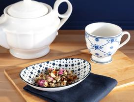New Bone China Oval Tabak
