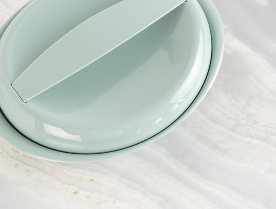 Oval Saklama Kabı - Yeşil