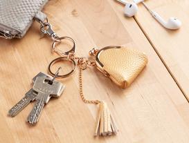 Çanta Figürlü Anahtarlık - Sarı