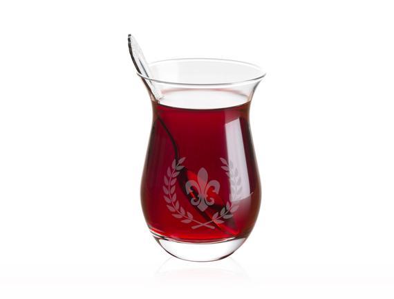 Fleur De Lys 6'lı Çay Bardağı 168 ml