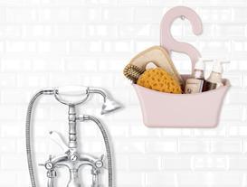 Banyo Askılığı - Pudra