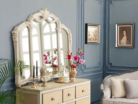 Victorian Romance Üç Bölümlü Ayna - Taş