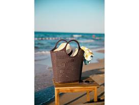 Vacances Plaj Çantası - Koyu Mürdüm