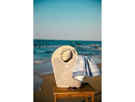 Vacances Plaj Çantası - Pudra