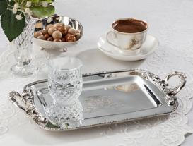 Metal Saplı Tepsi - Tray W/Metal Handle
