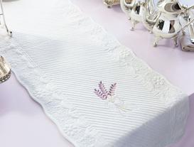 Bouquet Runner - Beyaz