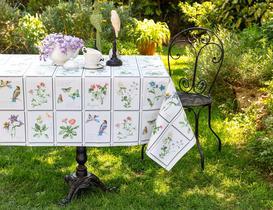 Silinebilir Masa Örtüsü - Yeşil