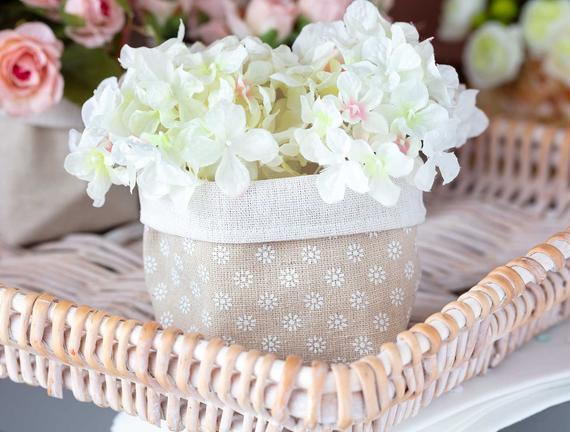 Kumaş Kese - Çiçek