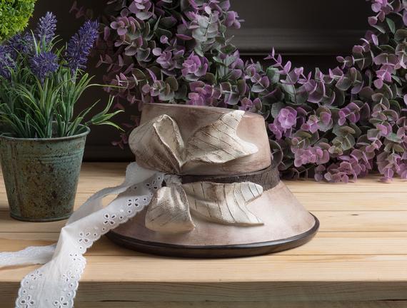 Dekoratif Takı Kutusu - Şapka