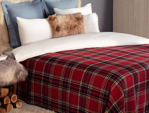 Double-Size Cotton Blanket
