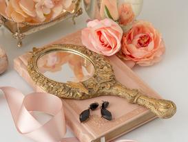 Papillon El Aynası - Gold