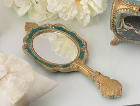 Ethnique El Aynası - Yeşil