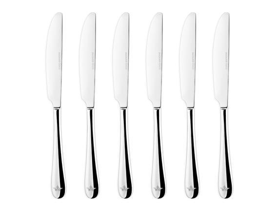 Crown Yemek Bıçağı 6`li Set