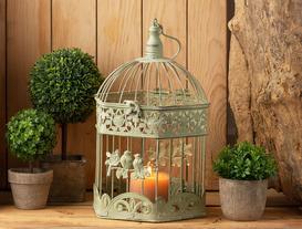 Decorative Metal Cage - Small