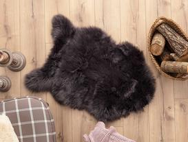 Plush Rug - Anthracite