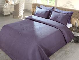 La Belle Epoque 6 Tek Kişilik Örme Yatak Örtüsü 160x240+60x80cm