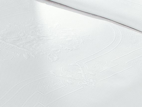 La Belle Epoque 7 Tek Kişilik Örme Yatak Örtüsü 160x240+60x80cm
