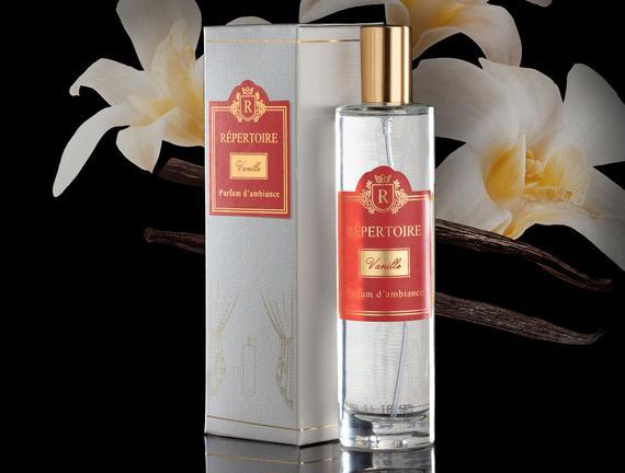 RÉPERTOIRE  Cam Şişe Oda Spreyi 100 ml Vanilla (Vanilya)