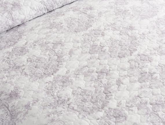 Charpente Tek Kişilik Yatak Örtüsü Seti - Mavi