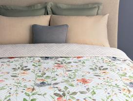 Lavernia Çok Amaçlı Çift Kişilik Yatak Örtüsü 200x220 cm