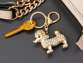 Köpek Figürlü Anahtarlık