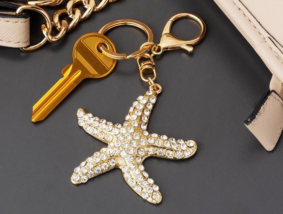 Starfish Figure Keychain