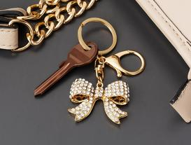 Ribbon Keychain