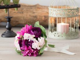 Ortanca & Düğün Çiçeği Buket
