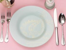 Royal Yemek Tabağı
