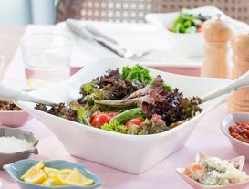 Spring New Bone China Salad Bowl