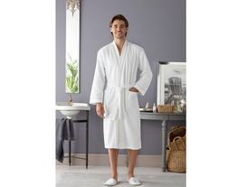 Clair Kimono Ara Biyeli Erkek Bornoz - Beyaz / Bej
