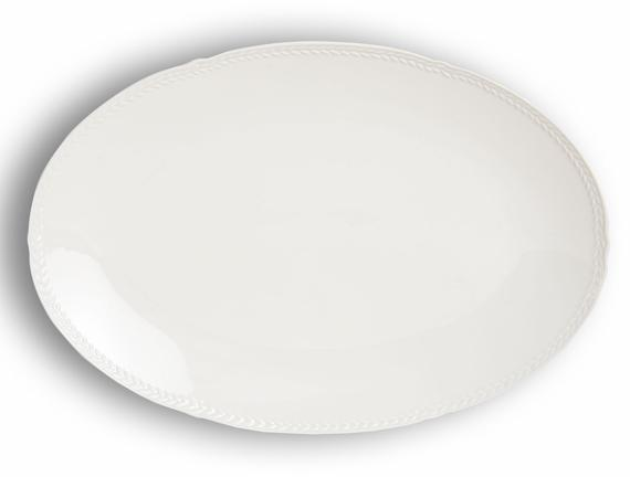 Spring New Bone China Oval Tabak