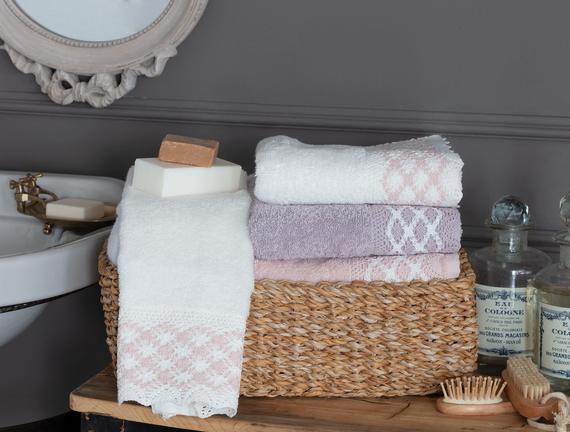 Double-Size Coloured Towel