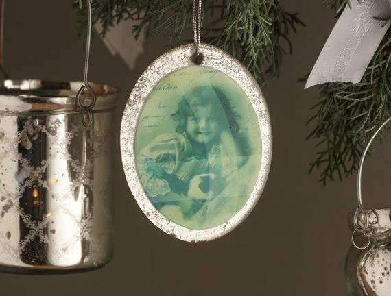 Ange Cam Duvar Dekoru - Yeşil