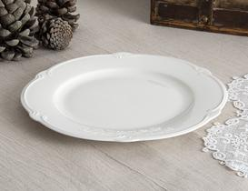 Olive New Bone China Servis Tabağı