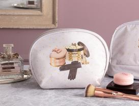 Oval Cosmetic Bag
