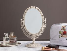 Scheler Çift Taraflı Masa Aynası - Toprak