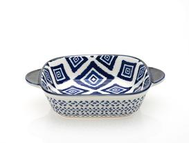 Rêve Bleu Carre New Bone China Kulplu Kare Kase