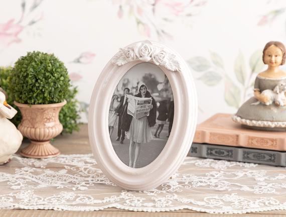 Romantique Oval Fotoğraf Çerçevesi