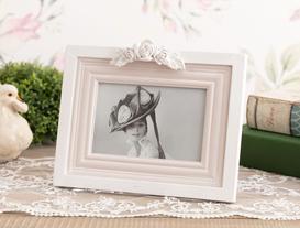 Romantique Fleur Fotoğraf Çerçevesi