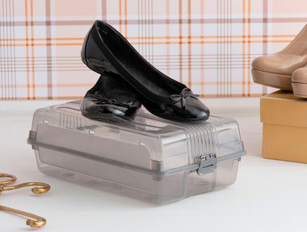 Kadın Ayakkabı Kutusu - Açık Gri