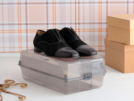 Erkek Ayakkabı Kutusu - Gri