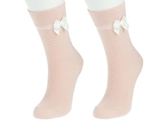 Bayan Kurdeleli Soket Çorap