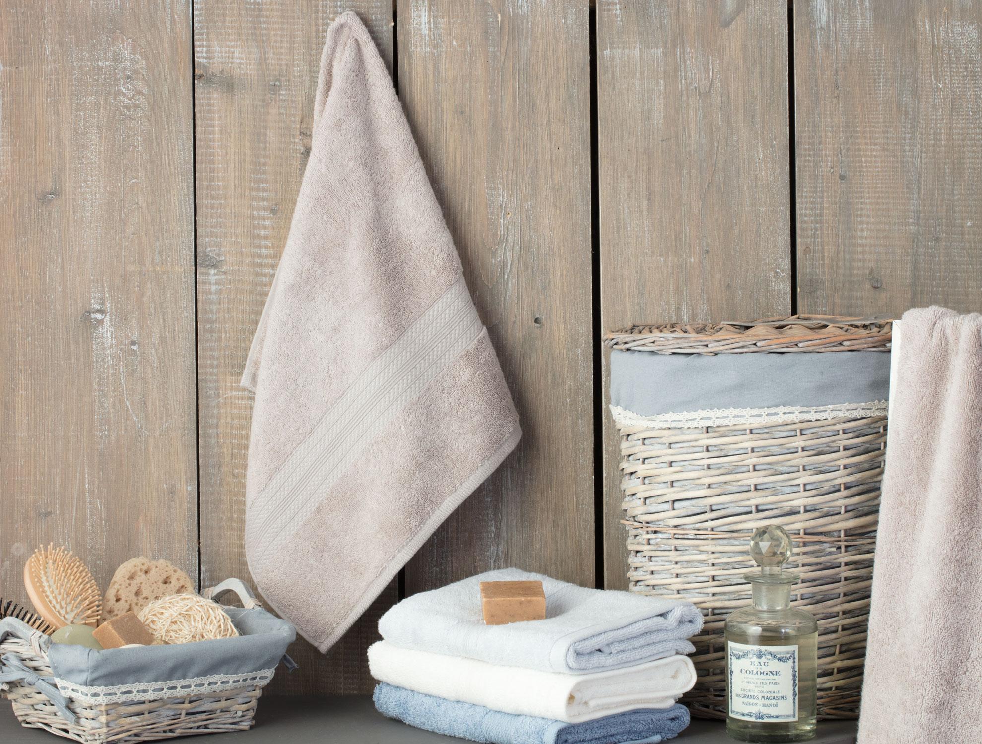 منشفة لليدين قطن 100% - مقاس (50*80) سم - بيج فاتح
