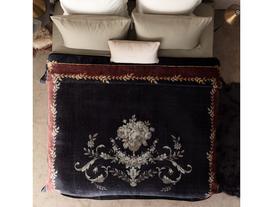 Floral Vizon Baskılı Battaniye 220x240 cm
