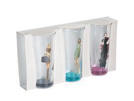 Woman 3'lü Su Bardağı