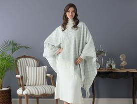 Diamond Patterned Poncho