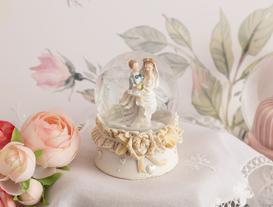 Bride Kar Küresi - Ekru